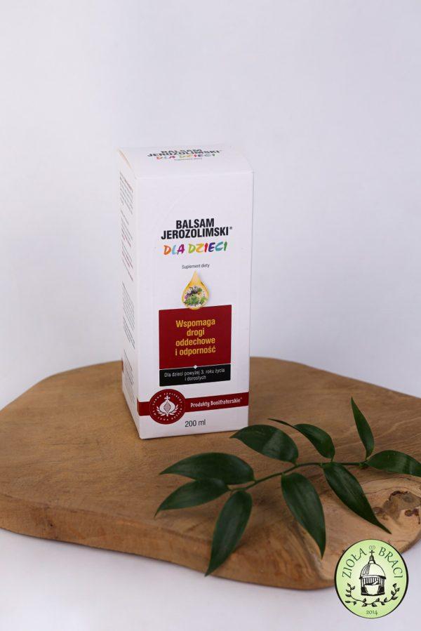 balsam jerozolimski dla dzieci
